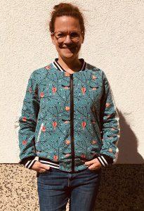 Portrait von Anke Seelig, Die Nähtante